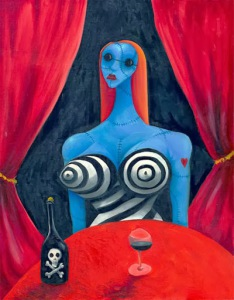 01_Tim-Burton_Blue-Girl-with-Wine1